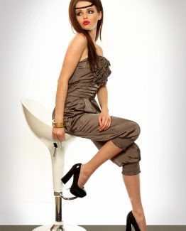 3310-1 Elegant suit – brown