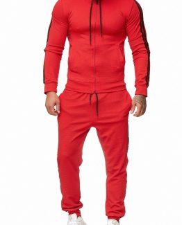 SWEAT SUIT MAN- RED 52003-2