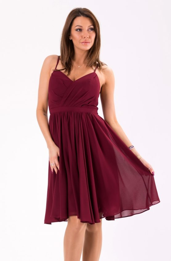 EVA&LOLA DRESS aubergine 46039-3 size L