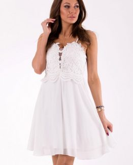 EVA&LOLA DRESS WHITE 46040-3 Size L
